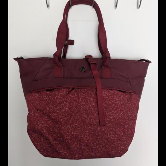 Lululemon Red Bag